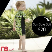 Sun Safe with Rhona Sutton at Mothercare Offer