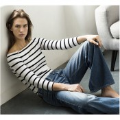 Zara's organic cotton stripes Offer