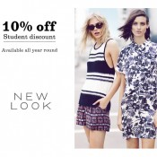 New Look gives students 10% off all-year round Offer