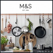 Cook up a storm at M&S Offer