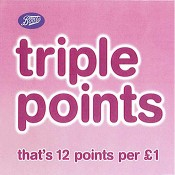 Earn Triple Points in-store at Boots Offer