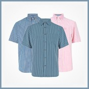 20% off short sleeved shirts at M&S Offer