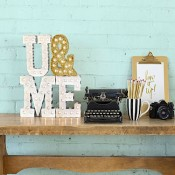 Light up your initials at Hobbycraft Offer